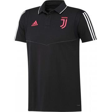 Polo Juventus Nero-Rosa Uomo