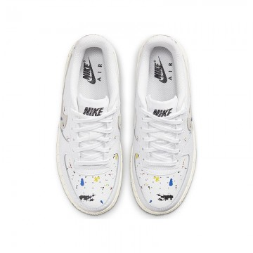 Nike Air Force 1 LV8 3 Bambino Bianco-Fantasia