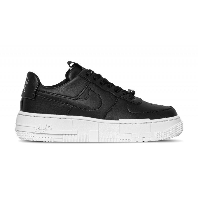 Nike Air Force 1 Pixel Donna Nero-Bianco