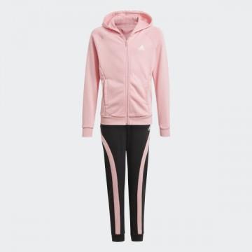 Tuta Adidas Bimba Rosa-Nero