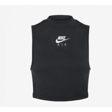 Canotta Crop Nike Air  Nera...