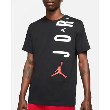 T-shirt Jordan Air  Nera Uomo