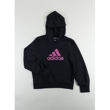 Felpa Adidas Bambina Logo Nera