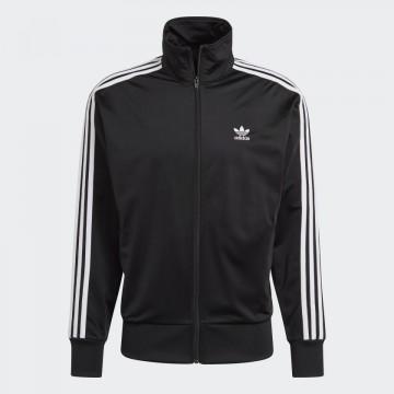 Felpa Acetato Adidas Nera Uomo