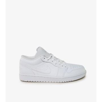 Nike Jordan 1 Low White Uomo